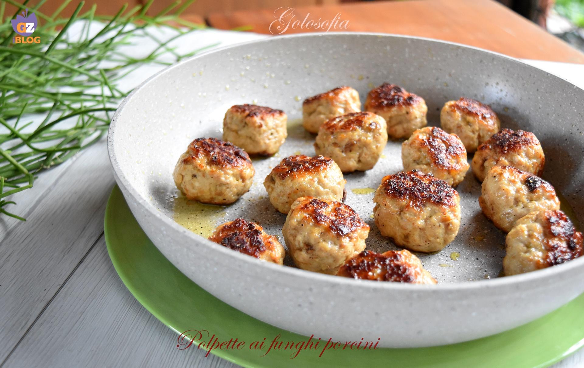 Polpette ai funghi porcini, ricetta semplice buonissima!
