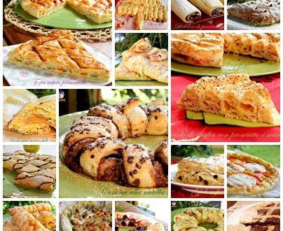 Raccolta di ricette con la pasta sfoglia, semplici e sfiziose