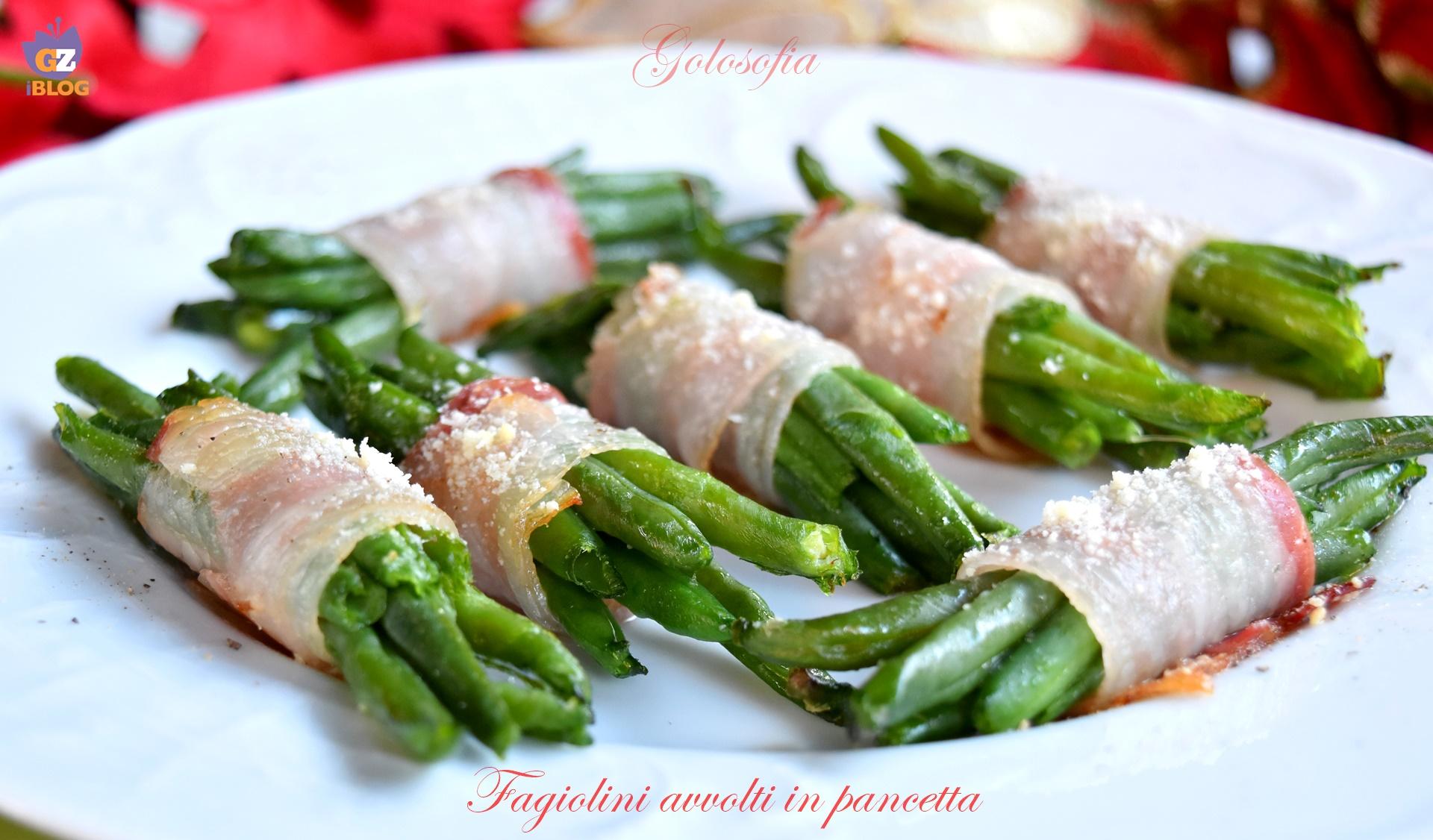 Fagiolini avvolti in pancetta, ricetta semplice gustosissima