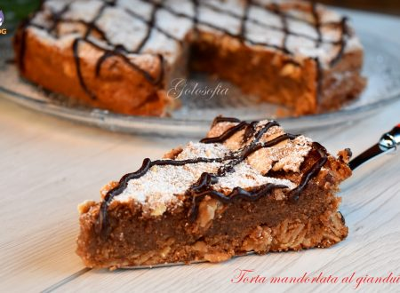 Torta mandorlata al gianduia, ricetta soffice e golosa