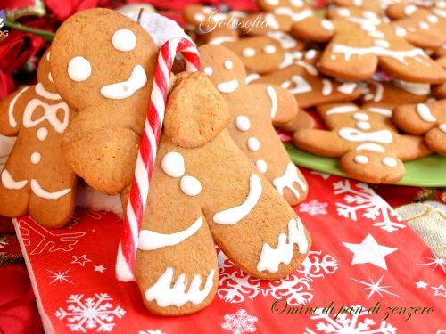 Omini di pan di zenzero, ricetta buonissima di Natale