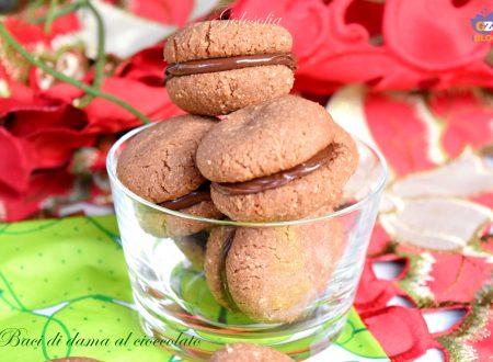 Baci di dama al cioccolato, ricetta semplice buonissima