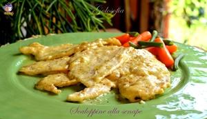 Scaloppine alla senape-ricetta secondi-golosofia