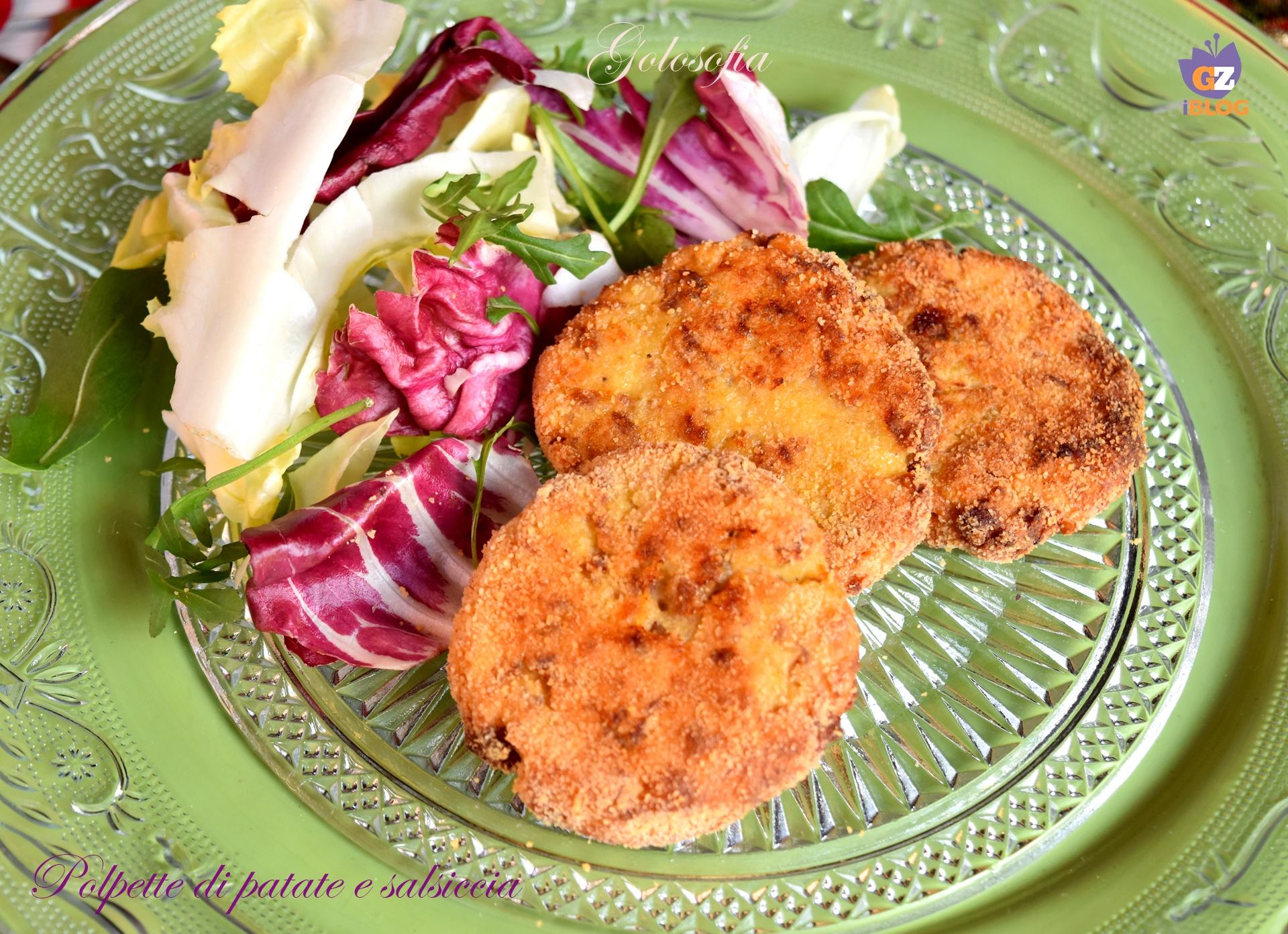 Polpette di patate e salsiccia, ricetta al forno gustosissima