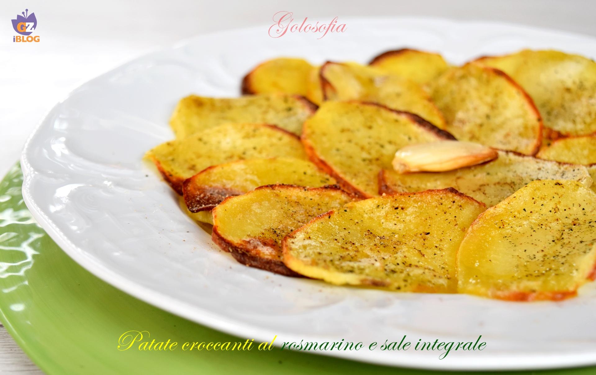 Patate croccanti al rosmarino e sale integrale-ricetta contorni-golosofia