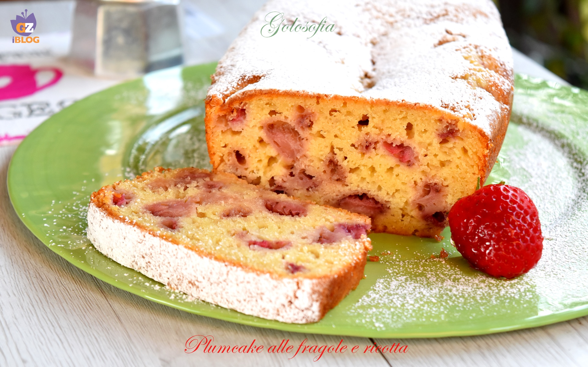 Plumcake alle Fragole e Ricotta, Ricetta Sofficissima per la Colazione
