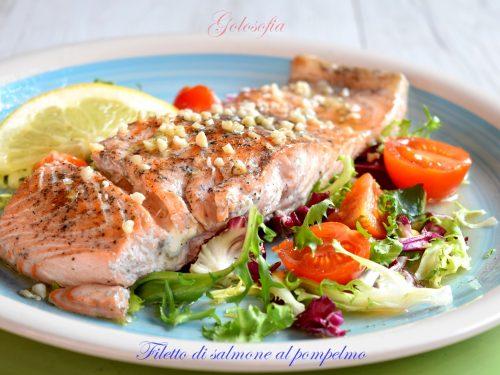 Filetto di salmone al pompelmo, ricetta gustosa e veloce