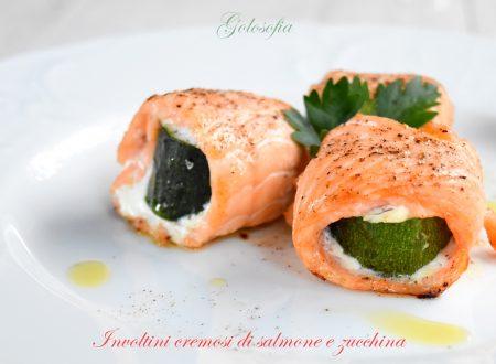 Involtini cremosi di salmone e zucchina, ricetta al forno favolosa!