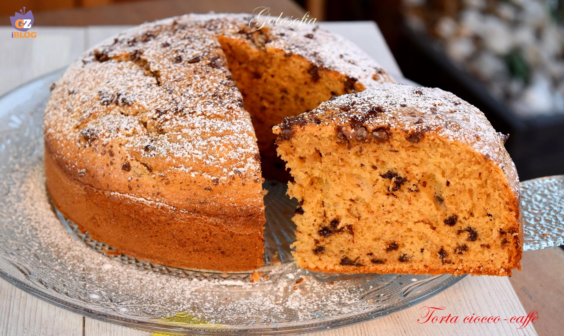 Torta Soffice Ciocco-caffè, Ricetta Buonissima Senza Burro