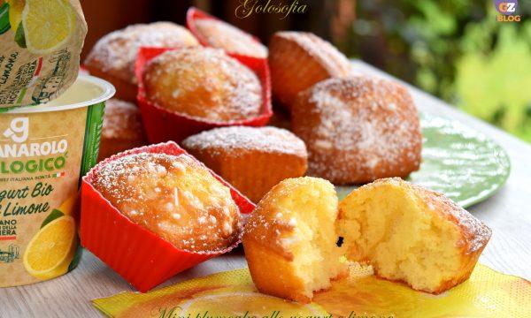 Mini plumcake allo yogurt e limone, ricetta sofficissima per la colazione