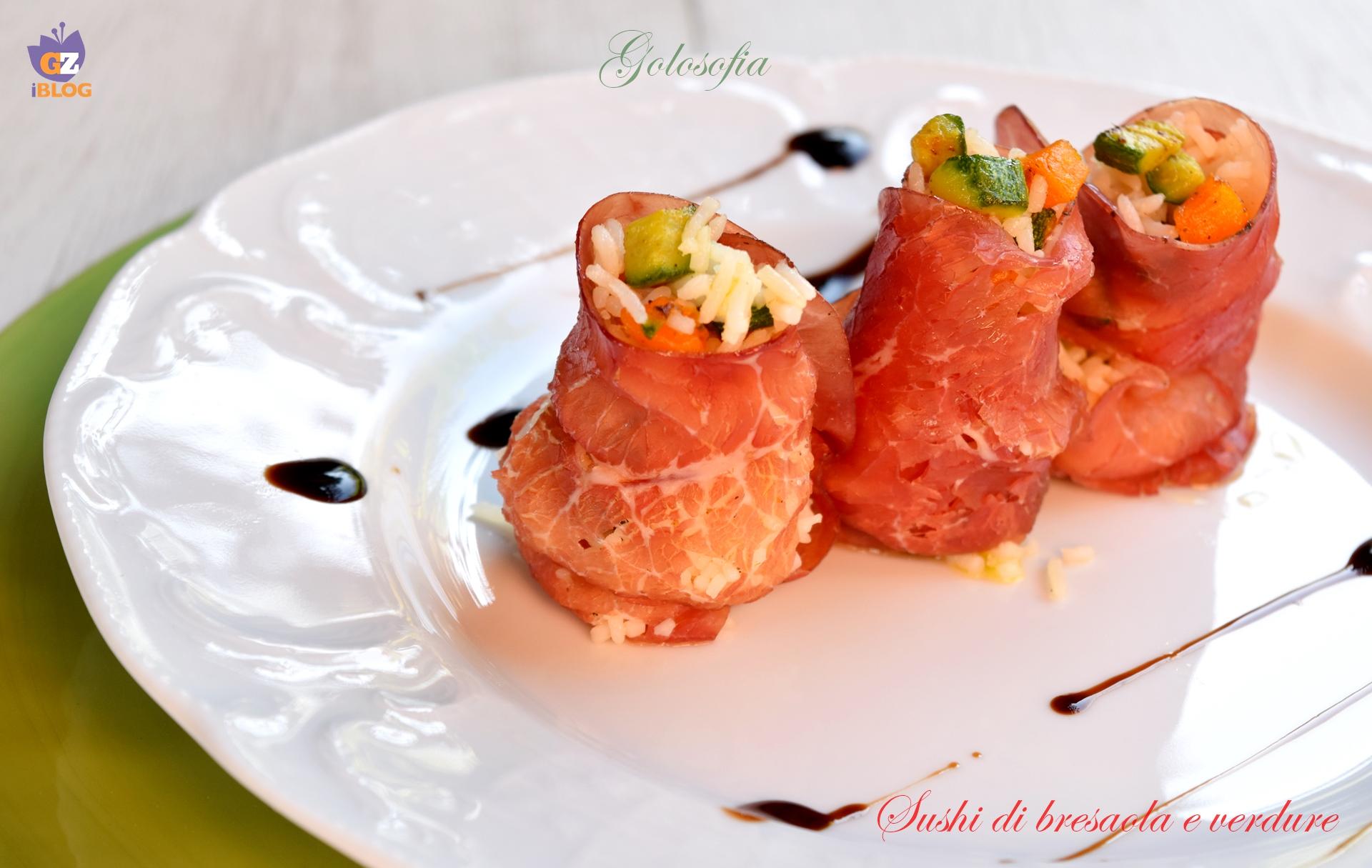 Super Sushi di bresaola e verdure-ricetta semplice, leggera e gustosa MK26