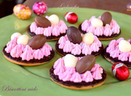 Biscottini nido, dolcetti semplici e golosissimi per la Pasqua