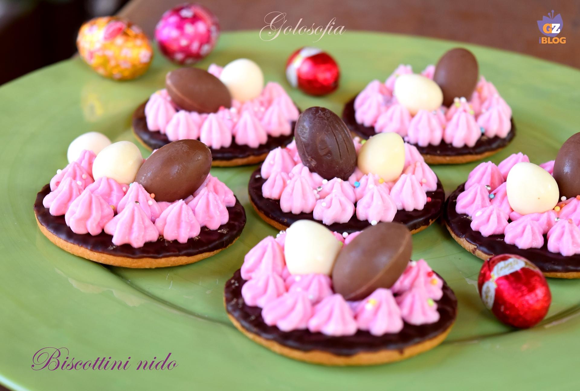 Biscottini nido-ricetta biscotti-golosofia