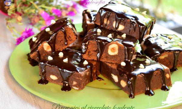 Brownies al cioccolato fondente, ricetta semplice super golosa!
