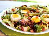 insalata con uova, asparagi e pancetta croccante-ricetta secondi-golosofia