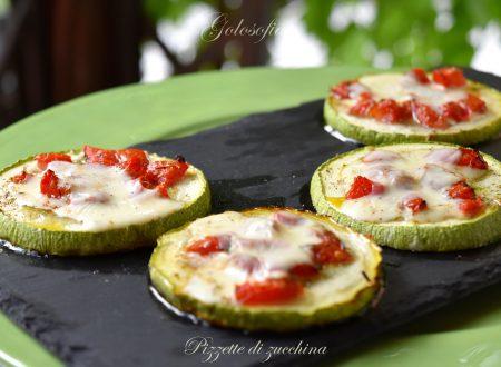 Pizzette di zucchina, ricetta buonissima, veloce ed economica
