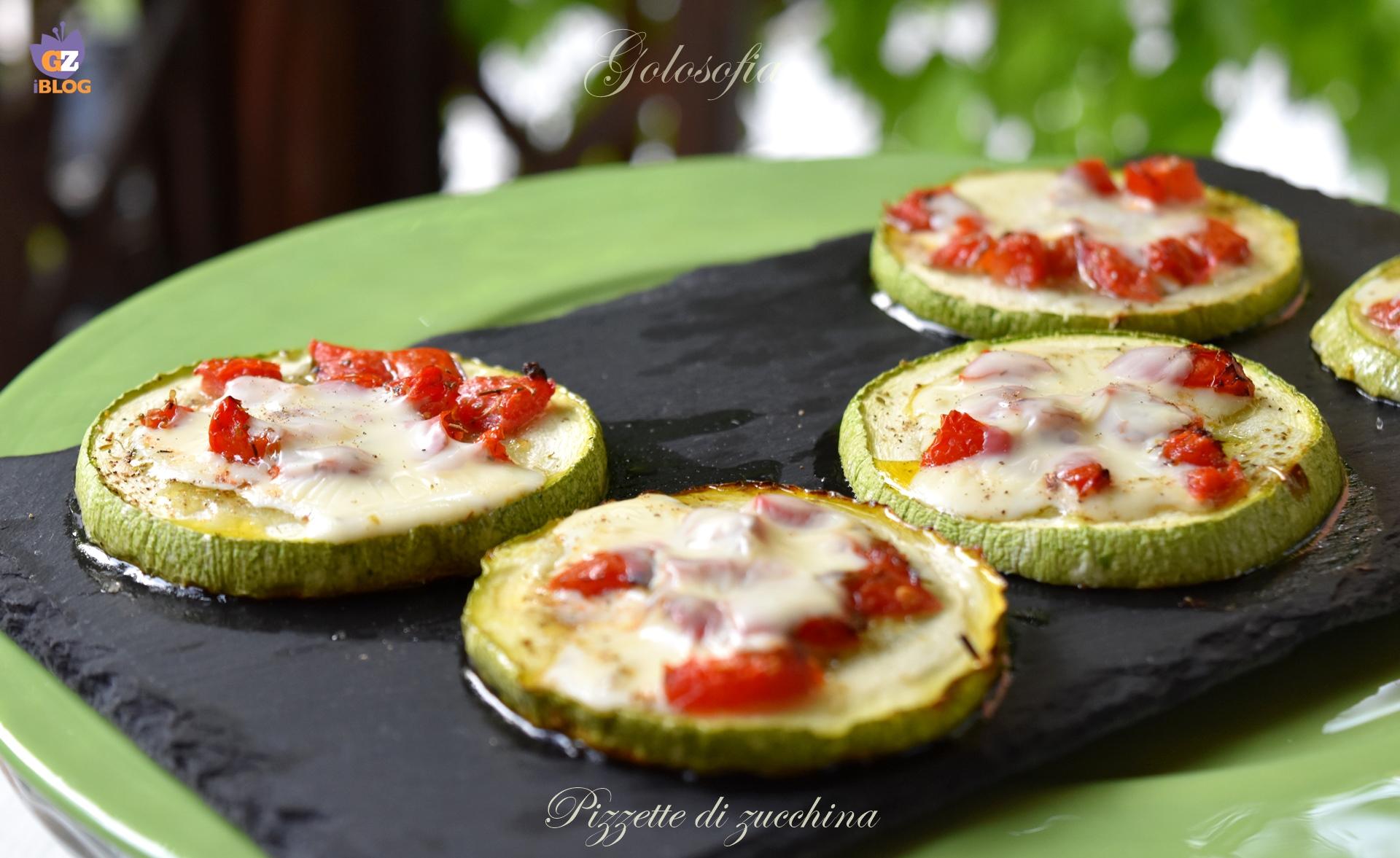 Pizzette di zucchina-ricetta contorni-golosofia