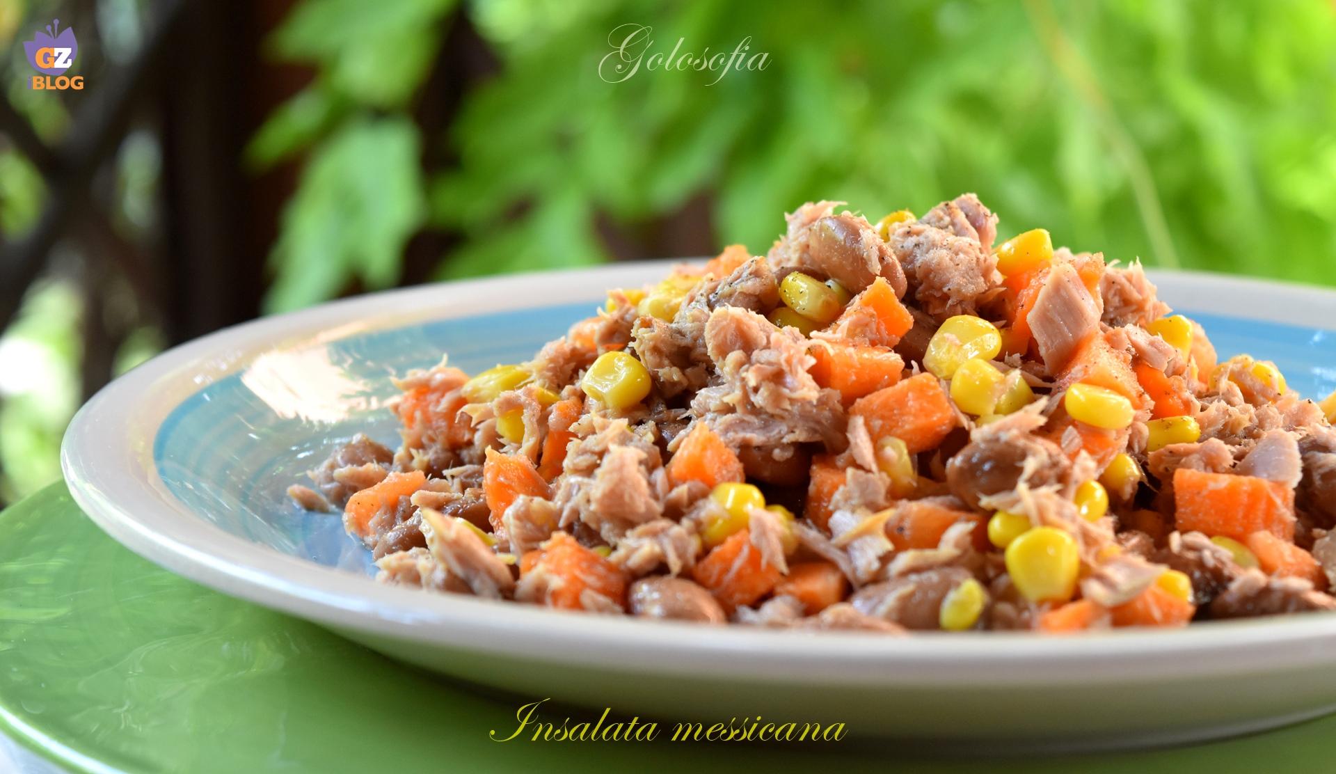Insalata messicana-ricetta estiva-golosofia