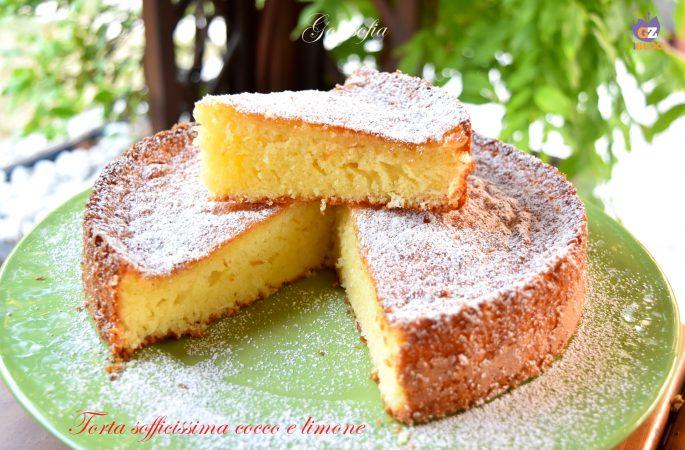 Torta sofficissima cocco e limone, ricetta imperdibile!
