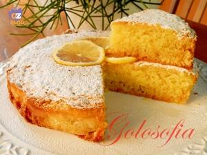 Caprese al limone con cioccolato bianco-ricetta torte-golosofia