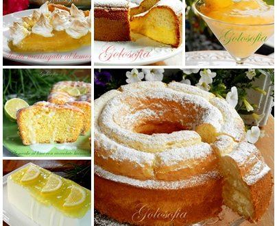 I miei migliori dolci al limone: torte, biscotti e golosi dessert!