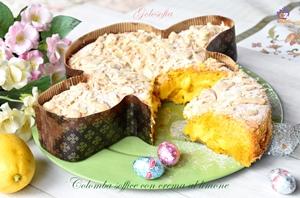 colomba soffice con crema al limone-ricetta dolci-golosofia