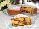 Torta di ricotta, fichi e cioccolato-ricetta torte-golosofia