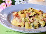 Paccheri al forno con zucchine, speck e besciamella-ricetta primi-golosofia