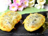 Patate farcite al Roquefort-ricetta contorni-golosofia