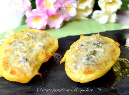 Patate farcite al Roquefort, ricetta al forno buonissima