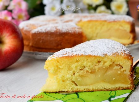 Torta di mele a spicchi, ricetta soffice, semplice e buonissima