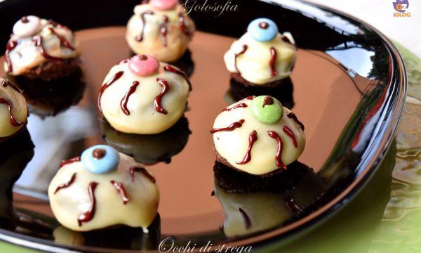 Occhi di strega, ricetta golosa e semplice per Halloween