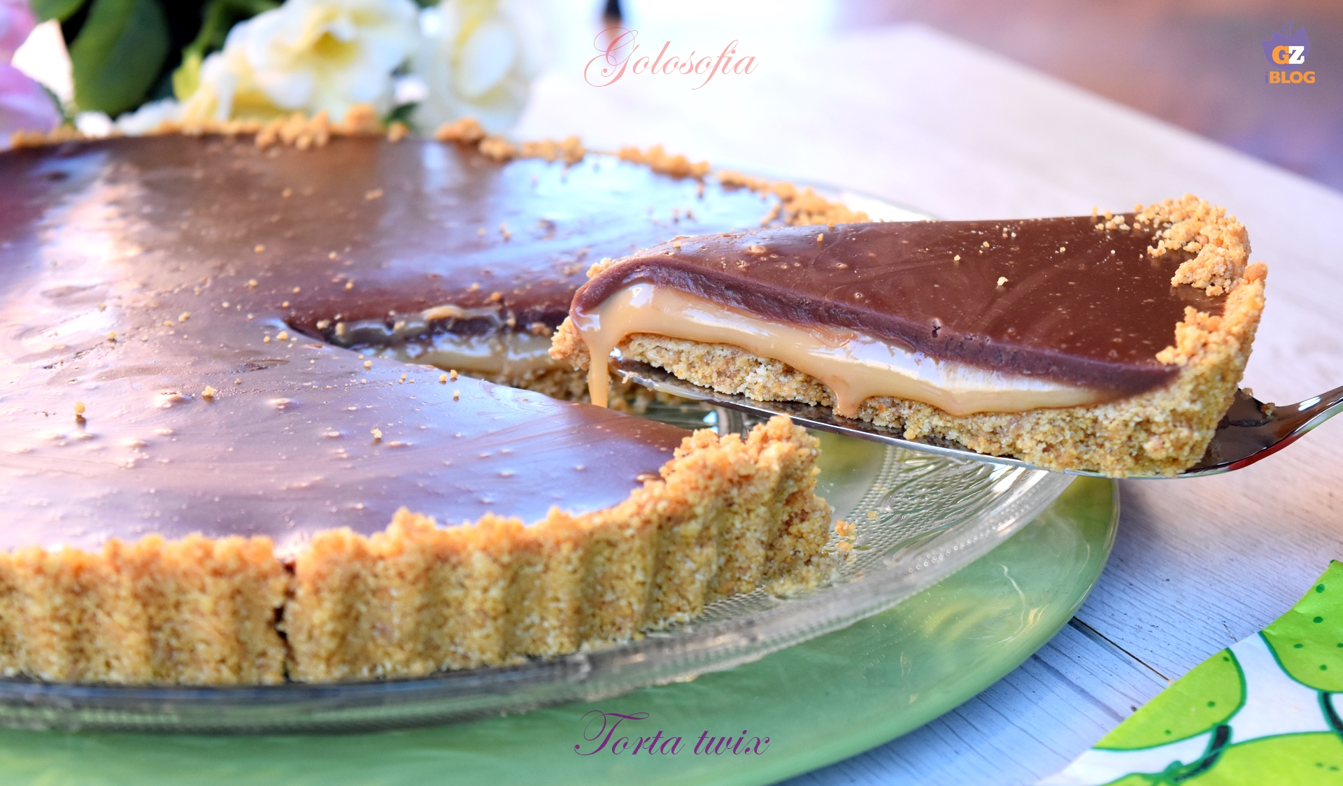 Torta Twix-ricetta torte-golosofia