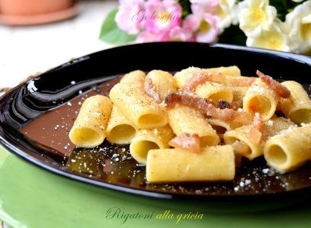 Rigatoni alla gricia, ricetta tradizionale buonissima e veloce