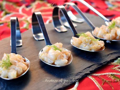 Tartare di gamberi, ricetta antipasto fresco ed elegante