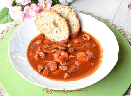 Zuppetta di pesce veloce, ricetta buonissima e leggera