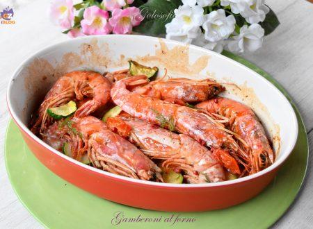 Gamberoni al forno, ricetta semplice, veloce e gustosissima