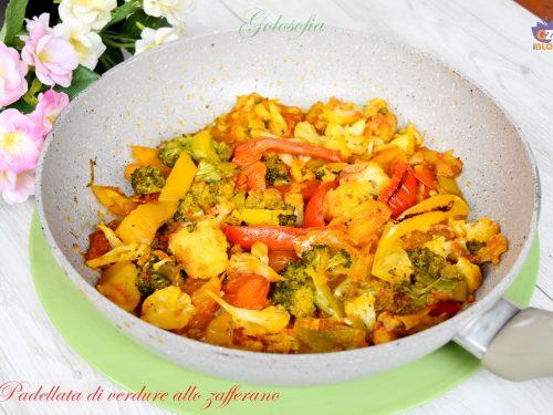 Padellata di verdure allo zafferano, ricetta semplice gustosa