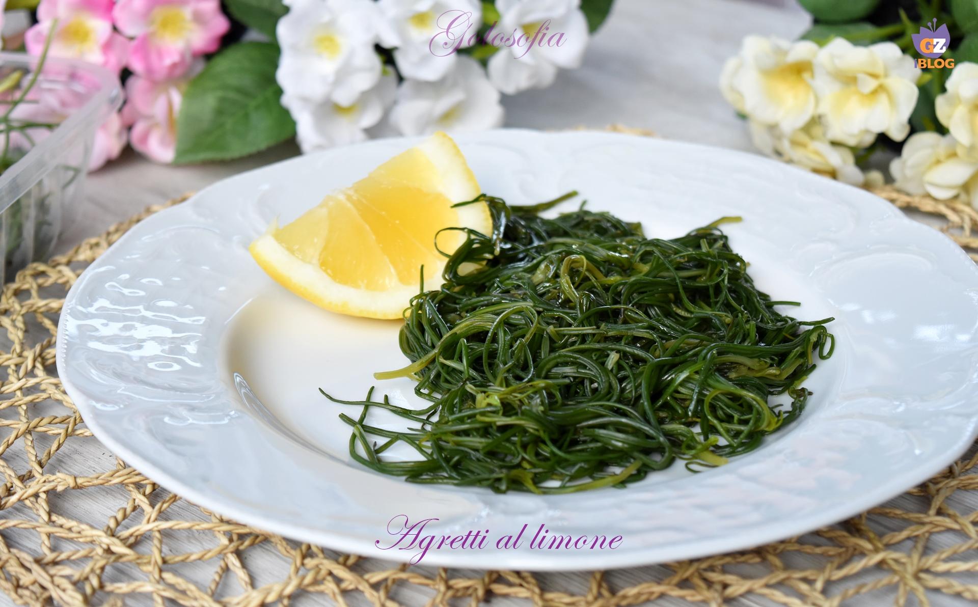 Agretti al limone-ricetta contorni-golosofia