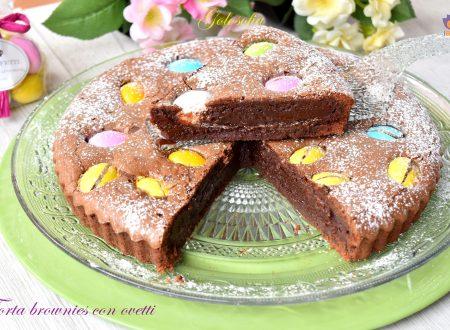 Torta brownies con ovetti, ricetta golosissima e veloce!