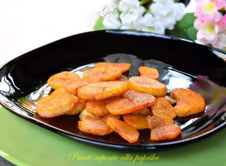 Patate saporite alla paprika, contorno semplice e squisito
