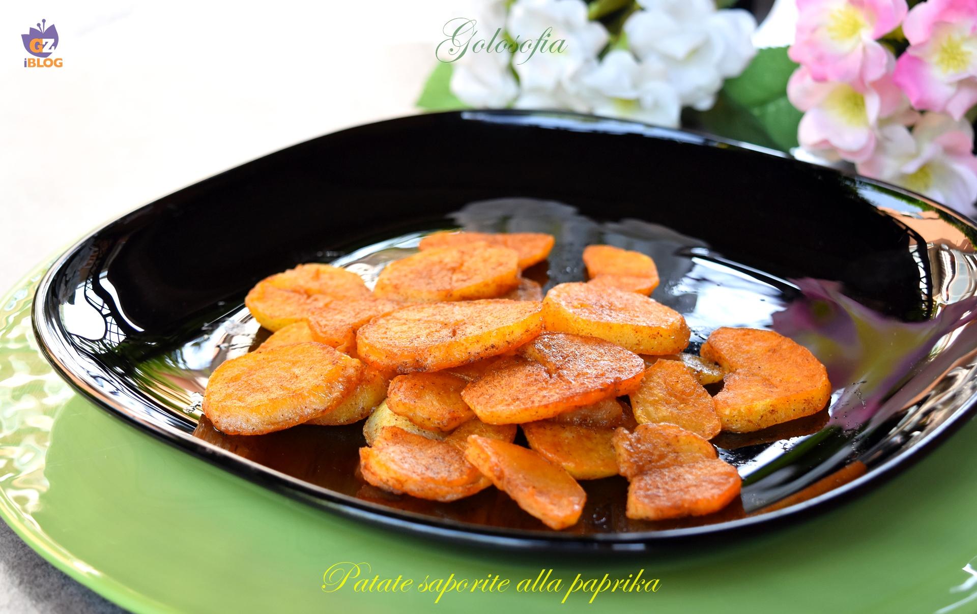 Patate saporite alla paprika-ricetta contorni-golosofia