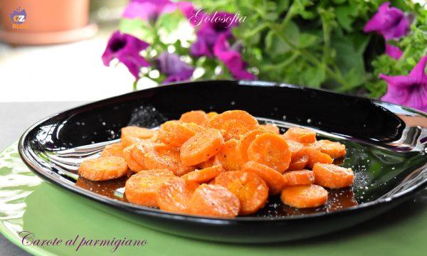 Carote al parmigiano, contorno semplice e gustoso