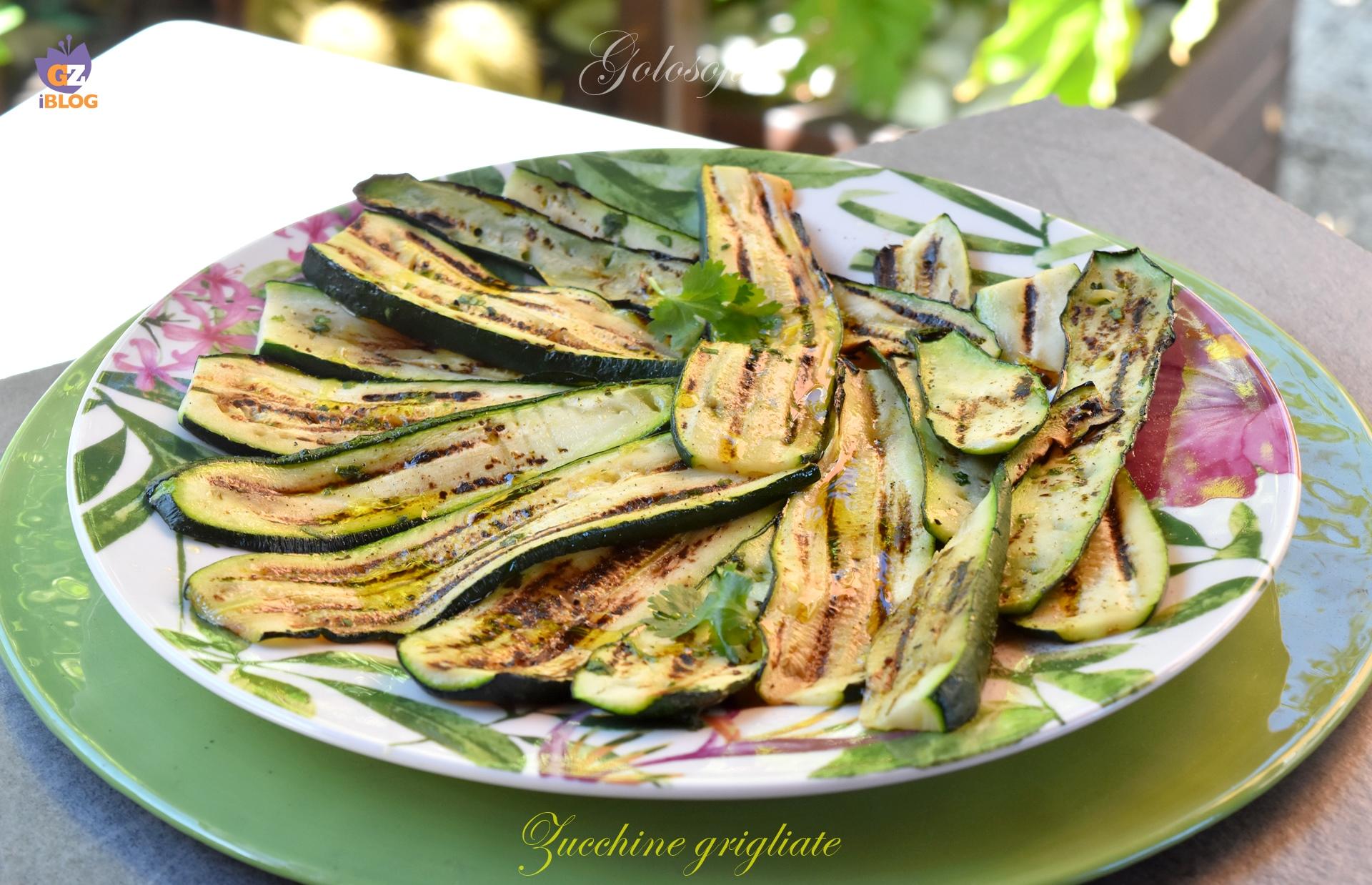 Zucchine Grigliate, Semplice e Buonissimo Contorno