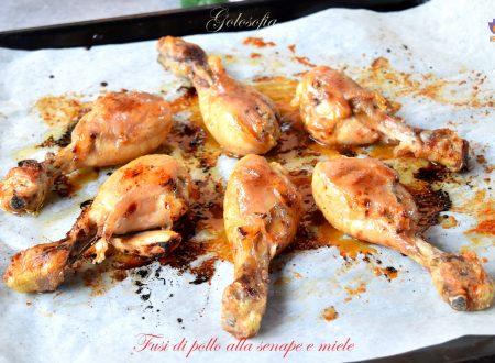 Fusi di pollo alla senape e miele, ricetta buonissima al forno