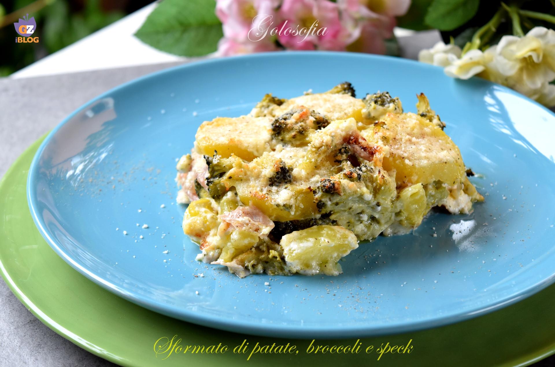 Sformato di Patate, Broccoli e Speck, Goloso e Filante!