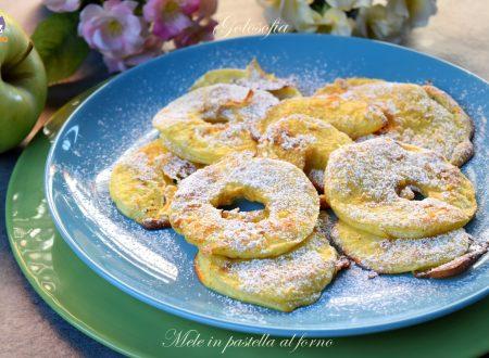 Mele in pastella al forno, ricetta semplice buonissima