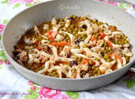 Seppie con i piselli, ricetta semplice, veloce e gustosissima
