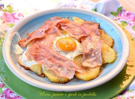Uova, patate e speck in padella, ricetta trentina fantastica