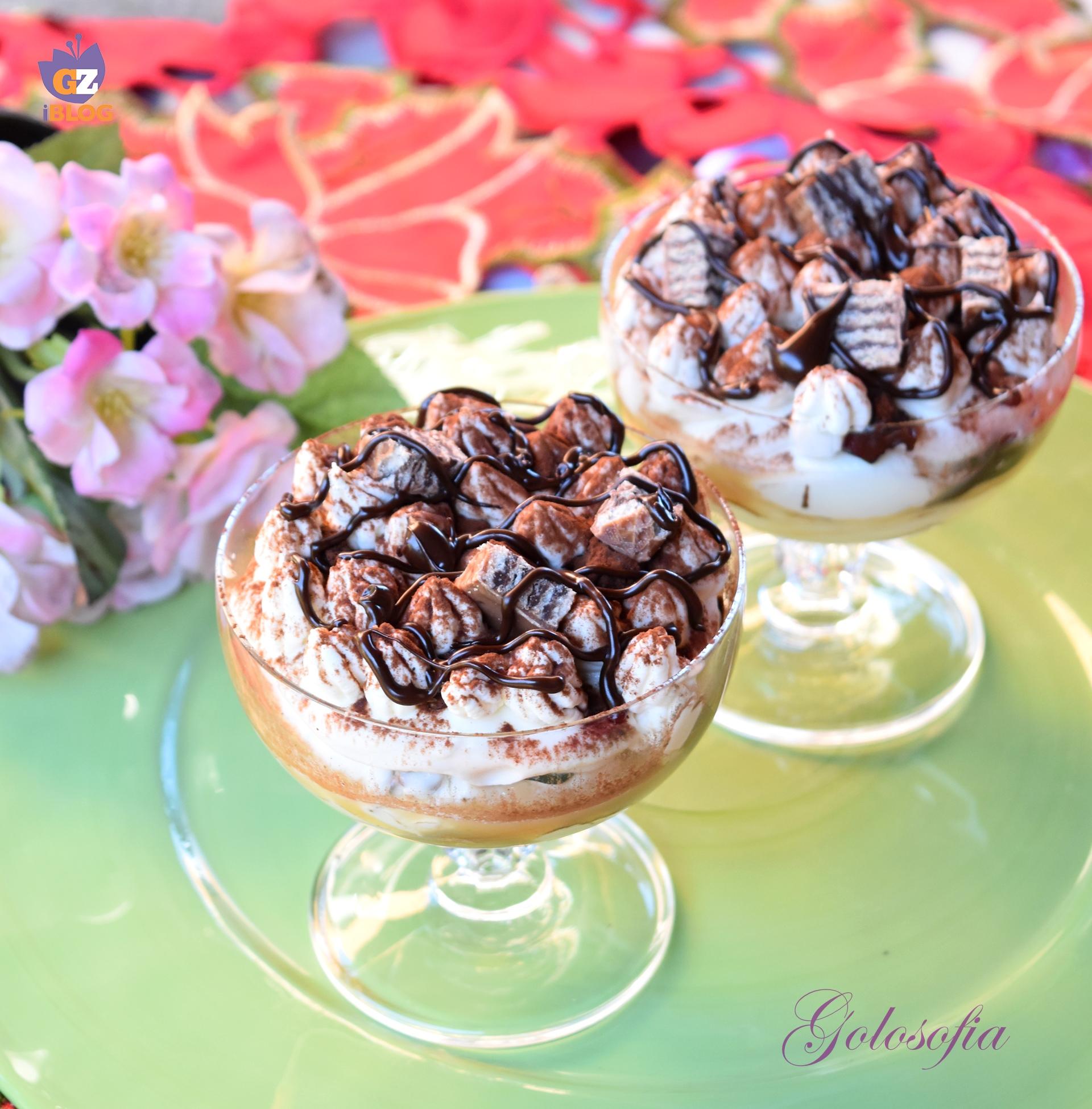 Cremoso al caffè con mascarpone e wafer-ricetta dolci-golosofia